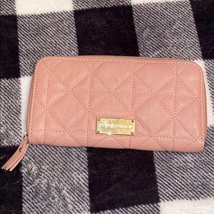 Steve Madden pink wallet